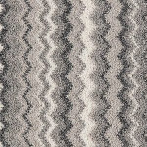 Moorland Twist Zigzag Grey